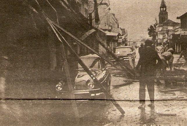 Há 50 anos, tufão destruiu parte de Lajeado