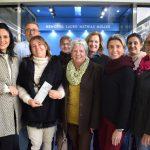 Integrantes da Liga e do Grupo Independente em visita na emissora nesta tarde (Foto: Natalia Ribeiro)