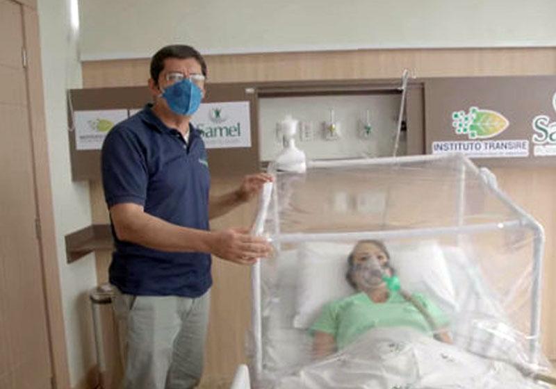 Brasil cria cabine que protege médicos da contaminação por Covid-19