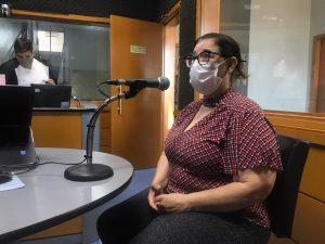 Meire Brod, jornalista, escritora e editora da Libélula Editorial (Foto: Jonas de Siqueira)