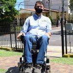 O novo vereador também pretende fiscalizar melhor as leis de acessibilidade (Foto: Gabriela Hautrive)