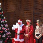 Papai Noel apresentou a letra do jungle durante o evento (Foto: Gabriela Hautrive)