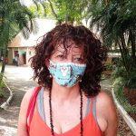Voluntária da ONG, Miriam Duarte (Foto: Gabriela Hautrive)