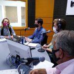 Entrevista na bancada do Troca de Ideias (Foto: Tiago Silva)