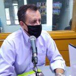 Progressista em entrevista à Rádio Independente (Foto: Tiago Silva)