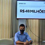 Dados foram apresentados pelo secretário da Fazenda de Lajeado, Guilherme Cé (Foto: Gabriela Hautrive)