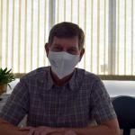 Secretário da Saúde, o médico pneumologista Cláudio André Klein (Foto: Caroline Silva)