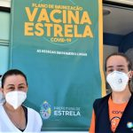 Técnica em enfermagem (e), Estela D'Avila (Foto: Gabriela Hautrive)