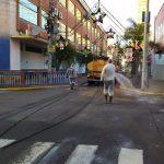 Pulverização irá mais uma vez ocorrer em locais públicos de maior movimento (Foto: Rodrigo Angeli)