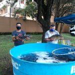 Nesta terça-feira (30) programação aconteceu na Rua Santos Filho, junto a Feira do Produtor Rural (Foto: Divulgação)