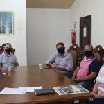 Antes da aquisição da usina foi realizada uma reunião na Prefeitura de Putinga (Foto: Divulgação)