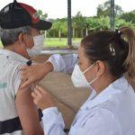 Vacinação em Estrela amplia grupos e faixas etárias (Foto: Rodrigo Angeli/Prefeitura de Estrela)