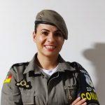 Soldado Diane Baumhardt é responsável pela gestão operacional do programa em Lajeado (Foto: Divulgação)