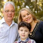 Tio Luiz e sua família (Foto: Júlio César Lenhard)
