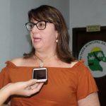 Secretária municipal da Saúde, Clairê Chitolina (Foto: Divulgação)