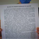 Documento será entregue para Prefeitura de Lajeado ainda nesta terça-feira (Foto: Gabriela Hautrive)