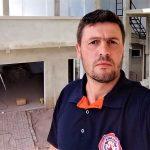 Bombeiro civil profissional e tesoureiro da associação, Jair Antônio Kaiber (Foto: Divulgação)