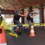Policiais de Estrela e Lajeado recebem orientações do batalhão de Porto Alegre (Foto: Gabriela Hautrive)