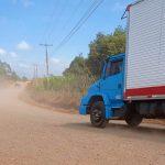 Moradores pedem mais fiscalização com veículos que utilizam desvios da BR-386 no interior de Estrela