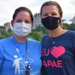Coordenadora pedagógica da Apae, Tamara Dresch (e), e a diretora da entidade, Ana Paula Rech (Foto: Gabriela Hautrive)