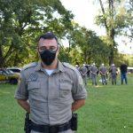 Comandante do CRPO-VT, Douglas Soares (Foto: Caroline Silva)