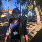 Jane Delazari é agente de endemias há 10 anos em Lajeado (Foto: Caroline Silva)
