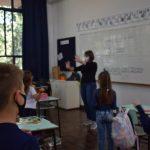 Ceat recebeu 800 alunos nesta quinta-feira entre todos os níveis de ensino (Foto: Caroline Silva)