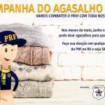 Campanha acontece em todo o RS em unidades da PRF (Foto: Divulgação)