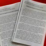 Primeira ação dos estudantes foi o envio de um abaixo-assinado com mil assinaturas para a prefeitura (Foto: Divulgação)