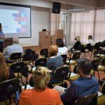 Primeira parte do evento de lançamento ocorreu na Prefeitura de Lajeado na manhã desta terça-feira (Foto: Gabriela Hautrive)