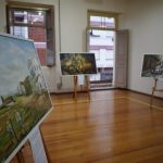 Exposição na Casa de Cultura de Lajeado conta com nove obras e a primeira em mostra após um ano de fechamento ao público
