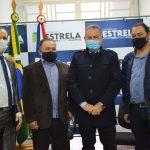 Evento foi finalizado por volta das 17h desta segunda-feira (31) na Prefeitura de Estrela (Foto: Gabriela Hautrive)