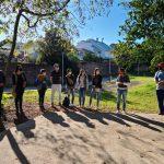 Equipe da Prefeitura de Lajeado no Parque Piraí (Foto: Divulgação / Prefeitura de Lajeado)
