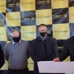 Evento de lançamento da obra contou com a presença de autoridades (Foto: Caroline Silva)