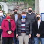 O G6 reúne representantes dos municípios de Fazenda Vilanova, Imigrante, Paverama, Poço das Antas, Teutônia e Westfália (Foto: Assessoria de Comunicação de Poço das Antas)