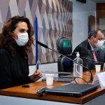 Medica Luana Araújo na CPI da Covid