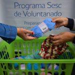 Após o recebimento, o material será encaminhado a projetos sociais e entidades de Lajeado (Foto: Gabriela Hautrive)