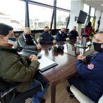 Reunião que autorizou o uso do projeto foi realizada na Prefeitura de Lajeado nesta sexta-feira (18) (Foto: Gabriela Hautrive)