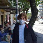 Auxiliar de limpeza Meri Eckart (Foto: Caroline Silva)