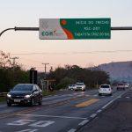 Início do trecho da RSC-453 entre Tabaí e Santa Cruz do Sul