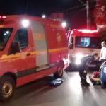 acidente centro de Lajeado