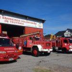 Sede do Corpo de Bombeiros Voluntários de Teutônia (Foto: Divulgação)