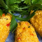 Croquete de quinoa