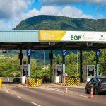Pedágio localizado no km 93 da ERS-130, em Encantado (Foto: EGR / Divulgação)