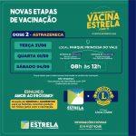 Vacinação Segunda Dose D AstraZeneca 31 01 04