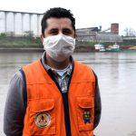 Coordenador da Defesa Civil de Lajeado, Juliano Pedroso (Foto: Gabriela Hautrive)