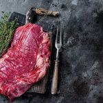 Carne no açougue