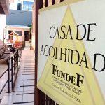 Casa de Acolhida está localizada localizada na Rua Pinheiro Machado, número 513, no Centro de Lajeado (Foto: Gabriela Hautrive)