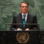 Jair Bolsonaro na Assembleia da ONU