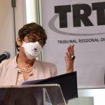 Presidente do TRT-RS, desembargadora Carmen Izabel Centena Gonzalez (Foto: Gabriela Hautrive)